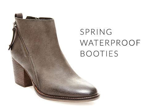 Spring Waterproof Booties