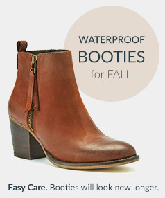 Waterproof Booties for Spring Showers