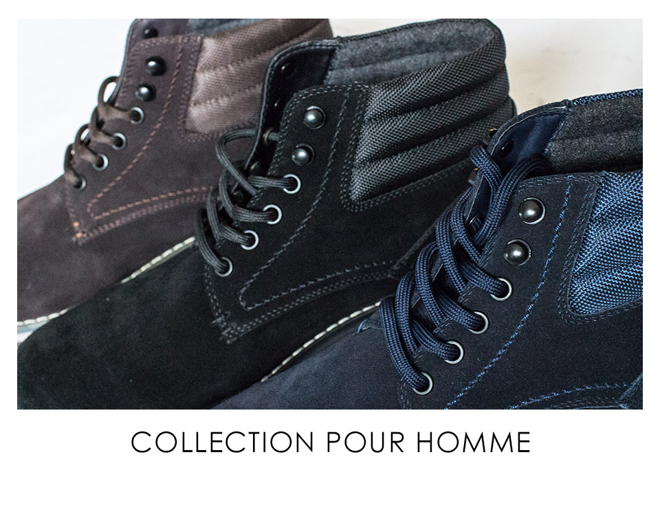 Collection pour homme